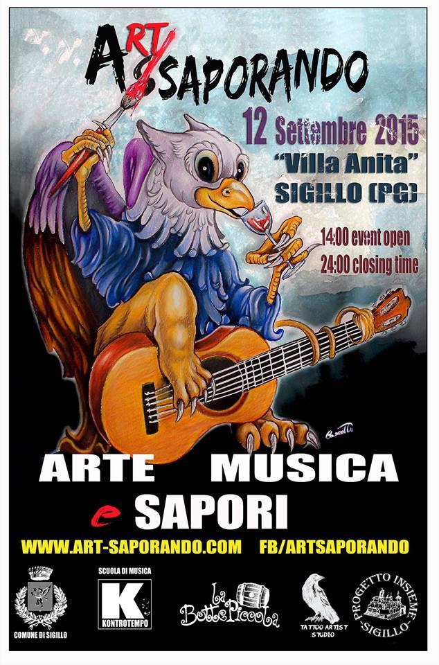 I Picari Live ad Art Saporando - Sigillo (PG)